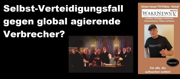 Selbstverteidigungsfall gegen global agierende Verbrecher