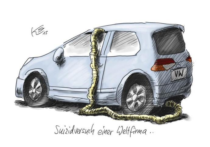VW Suizidversuch
